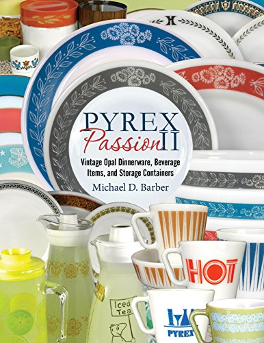 [Pyrex Passion II: Vintage Opal Dinnerware, Beverage Items, and Storage Containers] (Two Vintage Glass)