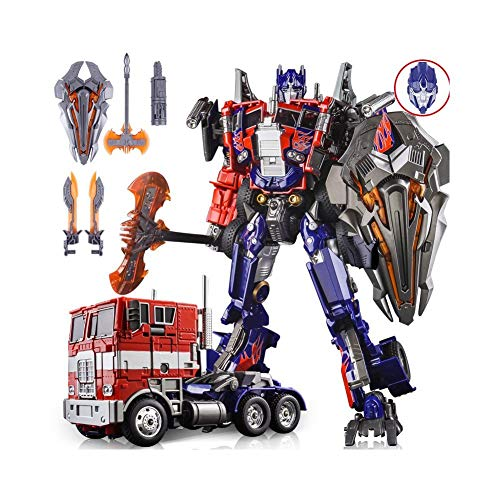 Optimus Prime Masterpiece - WEI JIANG M01 Leader Class Evasion Mode Oversize Alloy Commander