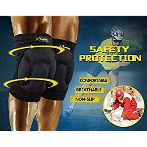 Motion Infiniti - Best Volleyball Knee Pads - No More Bruises with This Multi-purposed Knee Pads - Premium Made for Flooring, Gardening and Wrestling Knee Pads- 100% Money Back Guarantee!