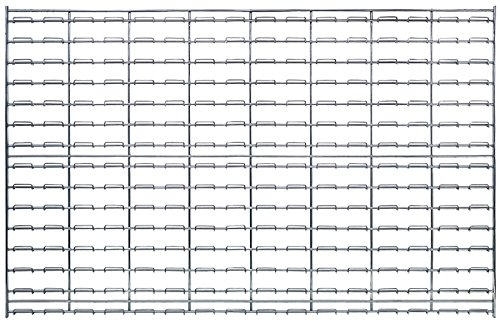 Quantum WLP-3048C Wire Louvered Panel, 48'' Width x 30'' Height by Quantum