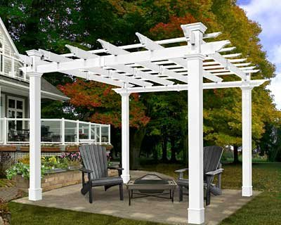 New England Arbors Mandalay Pergola