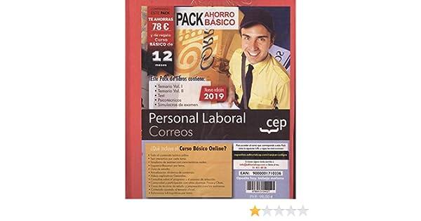 Personal laboral correos pack ahorro basico (5 tomos ...
