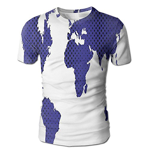 Best deals on lululemon map products edgar john all around the world great for a traveler free souls world map mens short sleeve tshirt l gumiabroncs Choice Image