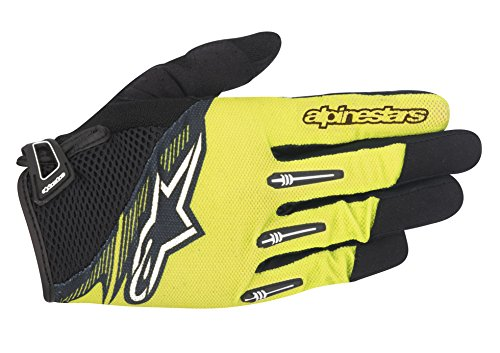 Alpinestars Men's Flow Gloves, Acid Yellow/Black, Medium (Best Mtb Enduro Gloves)