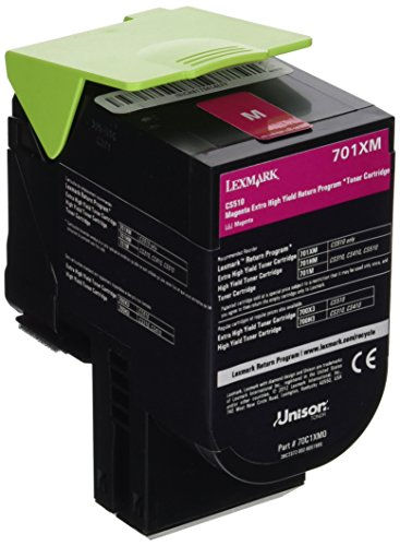 Lexmark 70C1XM0 Magenta Extra High Yield Return Program Toner