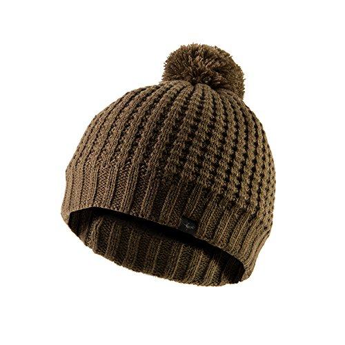 (SEALSKINZ Waterproof, Waffle Knit Bobble hat - Unisex)