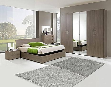 Camera larice grigio battente: amazon.it: casa e cucina