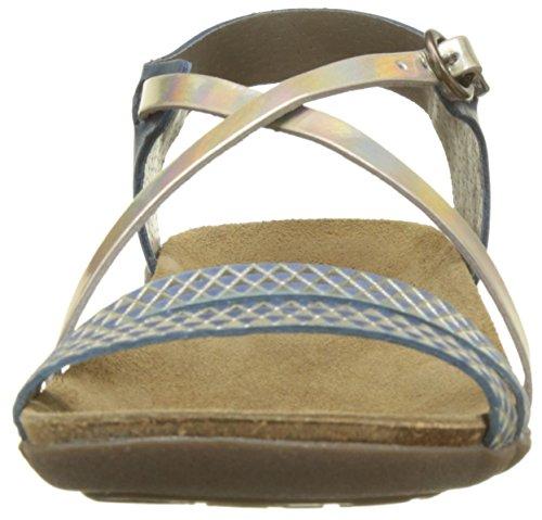 Sandales Bleu Femme Kickers marine Atomium 8qHa5