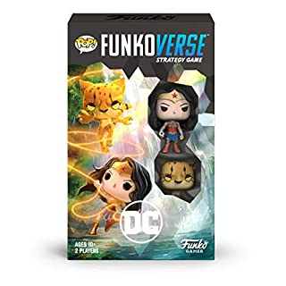 Funko Pop! Funkoverse: DC Comics 102 - 2-Pack, Wonder Woman and The Cheetah, Multicolor (45893)