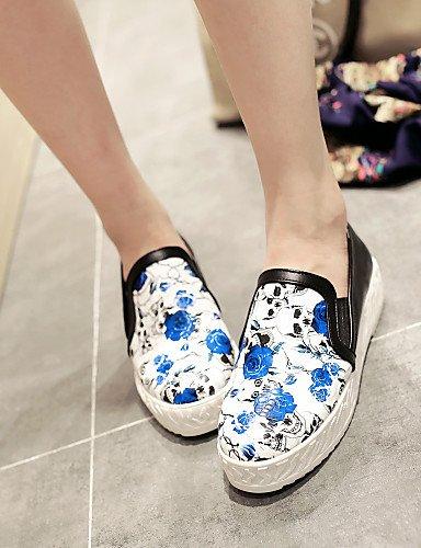 Zapatos de mujer - Tacón Plano - Punta Redonda - Mocasines - Vestido / Casual -