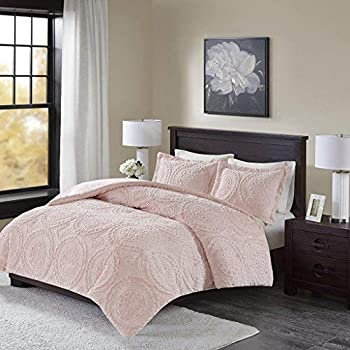 Amazoncom Intelligent Design Laila Comforter Mini Set Blush Home