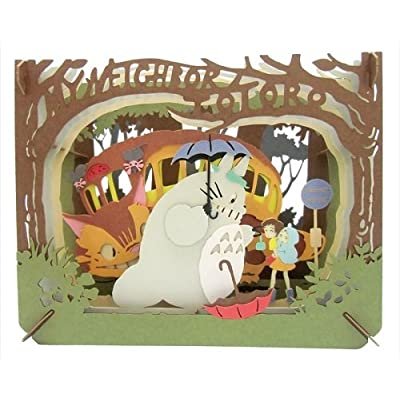 My Neighbor Totoro Mysterious Encounters Paper Theater: Toys & Games