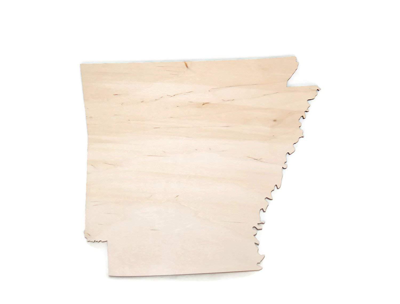 Gocutouts 6 Arkansas State Cutouts Package Of 2 Unfinished Wooden Baltic Birch 14 Cutouts 6 Arkansas