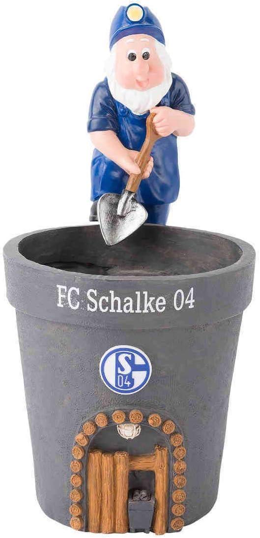 FC Schalke 04 Blumentopf Lore NEU