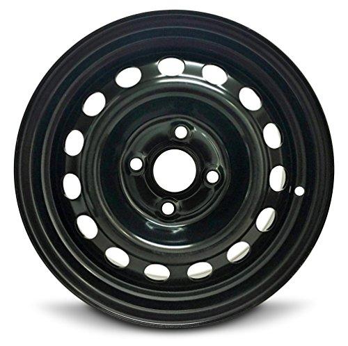 Hyundai Accent 14 inch 4 Lug Steel Rim/14x5.5 4-100 Steel Wheel (Steel Accents)