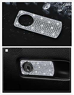 Boobo Ice Out Passenger Side Storage Box Handle Locker Cover Trim Bling  Emblem With Genuine Austrian 7895b072b145