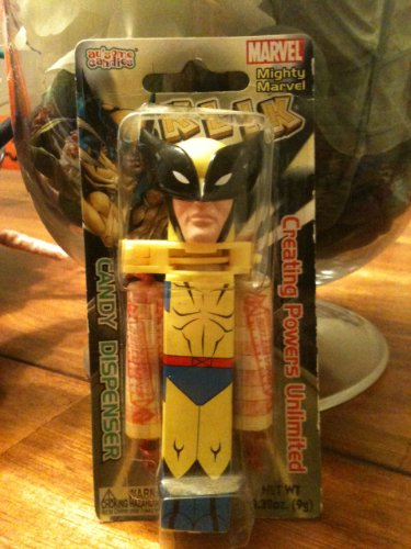Mighty Marvel Wolverine Klik Candy -