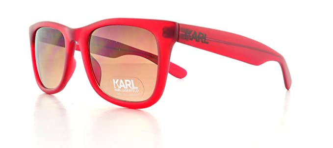 KARL LAGERFELD Gafas de sol KS6001 130 Satinado/Rojo 52MM ...