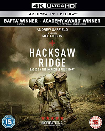 Hacksaw Ridge UHD BD [Blu-ray] [2018] for sale  Delivered anywhere in USA