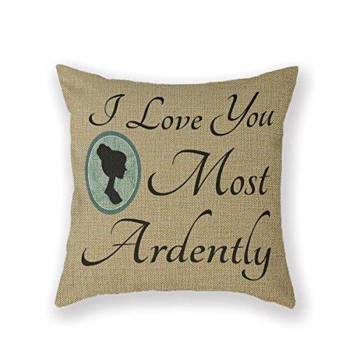 Customized Standard Pillowcase Elizabeth Bennett Pride Preju