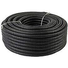 "5 FT - 100 FT   Split Loom TUBING - Polyethylene/High Temperature/Electrical Conduit (Size: 1/8"" 1/4"" 3/8"" 1/2"" 5/8"" 3/4"" 1"") SLT LOT"