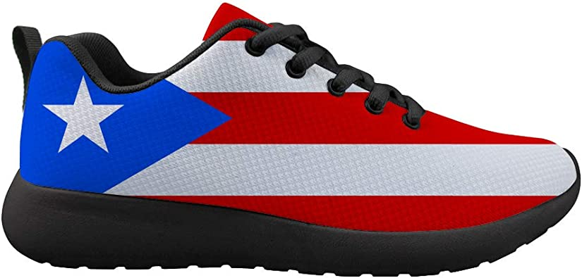 Owaheson Boys Girls Casual Lace-up Sneakers Running Shoes Peru Flag