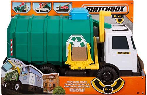 51Ob3B1L7GL - Matchbox Garbage Truck Large [Amazon Exclusive]