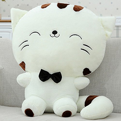 Smilingtree,Include Tail Cute Plush Stuffed Toys Cushion Fortune Cat Doll Home Sofa Pillow (65 cm, - Voucher Check Balance Gift