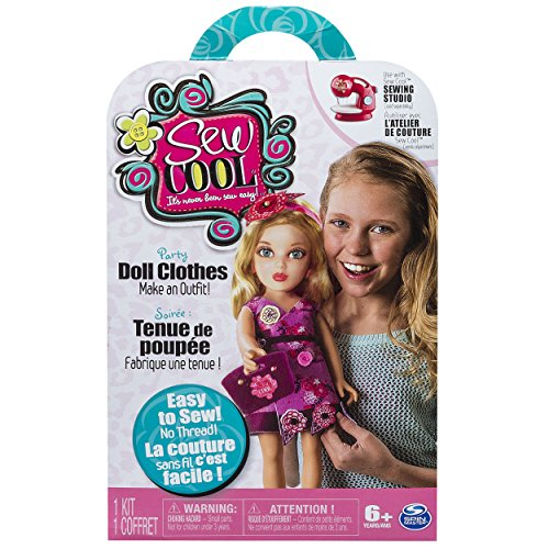 Sew Cool - Sweet Doll Clothes Fabric Pack - Threadless Sewing Machine