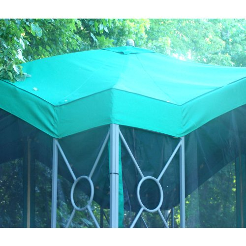 Garden Winds Replacement Canopy for Deluxe Pagoda Gazebo, RipLock 350 by Garden Winds (Image #5)
