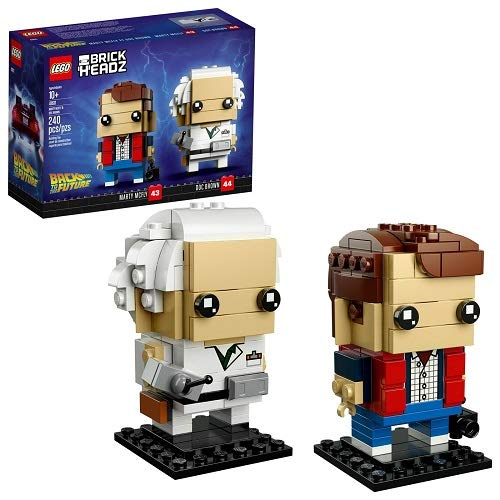 LEGO 41611 Brickheadz Marty McFly and Doc - Future Head