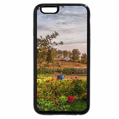 iPhone 6S / iPhone 6 Case (Black) apple trees on a farm