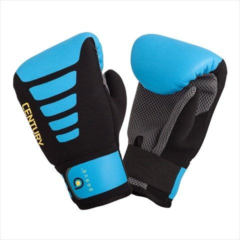 Gloves Bravo (Century Brave Neoprene Bag Gloves, Black/Blue, Small/Medium)