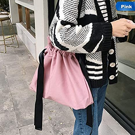 ac1b16f495db Amazon.com: Lannmart Women Lady Shopping Bag Canvas Totes Bags ...