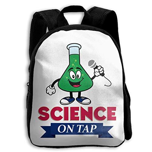 DKFDS Backpacks School Season Kids Backpack Bookbag,Child Science On Tap Shoulder Bag]()