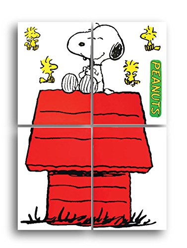 Eureka Back to School Giant Character Snoopy and Dog House Bulletin Board Set, Classroom Supplies, 48'' x 34'', 8 pc. -