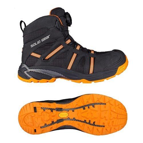 Solid Gear SG8000743 Phoenix GTX Chaussures de Sécurité S3 Taille 43 Noir/Orange