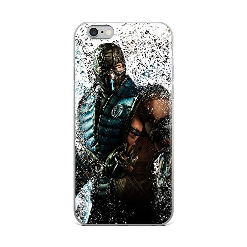 iPhone 6 Plus/6s Plus Case Anti-Scratch Gamer Video Game Transparent Cases Cover Subzero Gaming Computer Crystal Clear