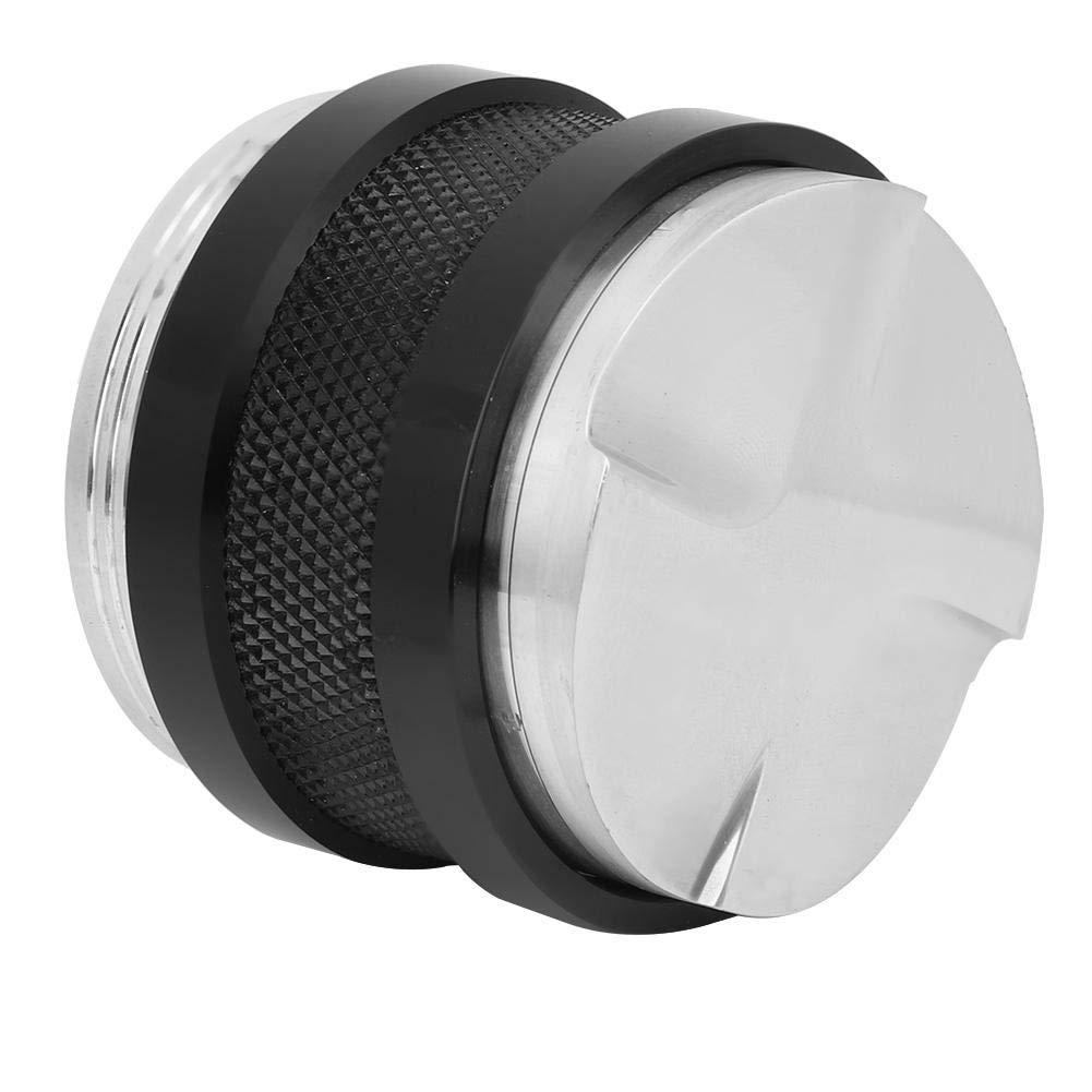 nivelador Herramienta auxiliar de base de 58 mm con cuatro pendientes inclinadas Herramientas y equipo para suministros de Acero inoxidable Caf/é inteligente Cafetera para exprimir Caf/é Distribuidor