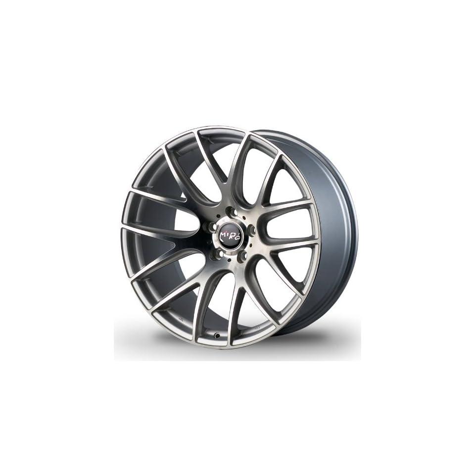 Miro Type111 19x8.5 19x9.5 Custom Wheel Silver Machine Polish Face Nissan Infiniti BMW Mercedes benz Wheels