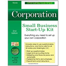 Corporation: Small Business Start-Up Kit