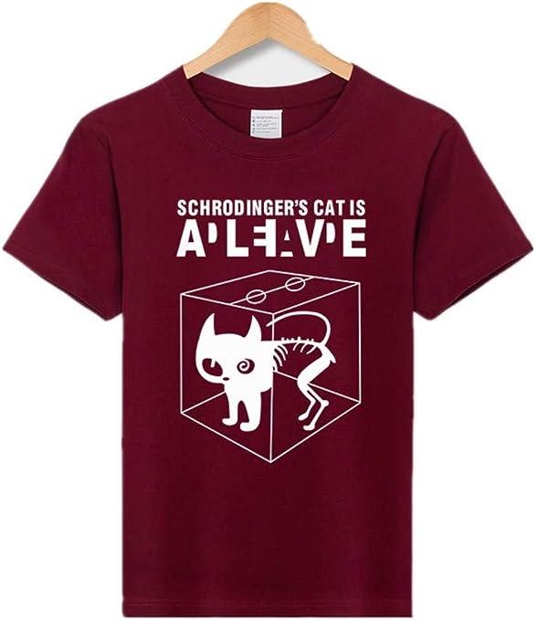 CWHao Camiseta de Algodón de Personalidad Masculina Europea Y Americana. Moda Masculina. Camiseta de Algodón, marrón, l: Amazon.es: Deportes y aire libre
