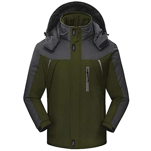 1214364e6 Amazon.com: Corriee Mens Outdoor Jackets Men Athletic Thick Hooded ...