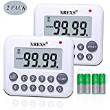 XREXS Digital Kitchen Timer Magnetic Countdown...