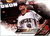2016 Topps Update #US60 Daniel Hudson Arizona Diamondbacks Baseball Card in Protective Screwdown Display Case