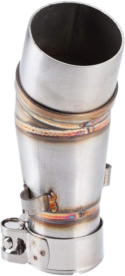 Tubo medio de escape Tubo de ataque central de la motocicleta Adaptador de conector de silenciador Compatible con Z250 250 13-16