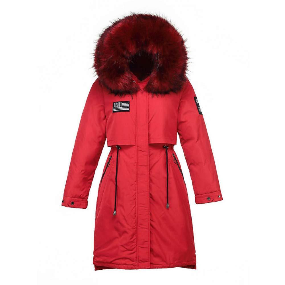 PINGGUO giacca Fodera in pelliccia colorata Cappotto da