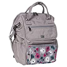 Lug Women's Via Tote Backpack, Pearl Floral Watercolor, One Size