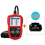 Autel AutoLink AL319 OBDII&CAN Code Readers with Read and Erase codes, check State Emission Monitor Status