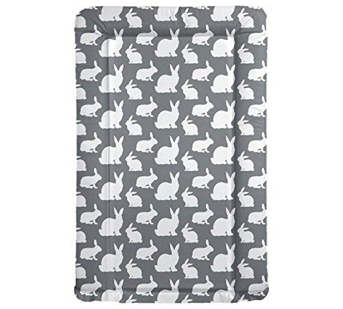 My Babiie Elephants Baby Changing Mat Grey Soft Padded Large Mat Wipe Easy Clean